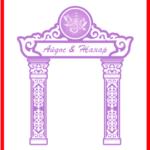 Арка для свадьбы, для Наурыз